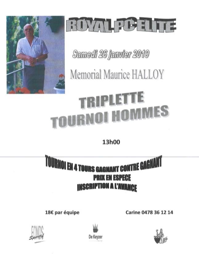 Mémorial Maurice Halloy