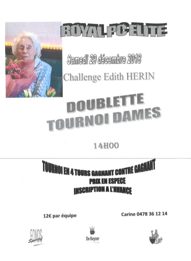 Challenge Edith HERIN